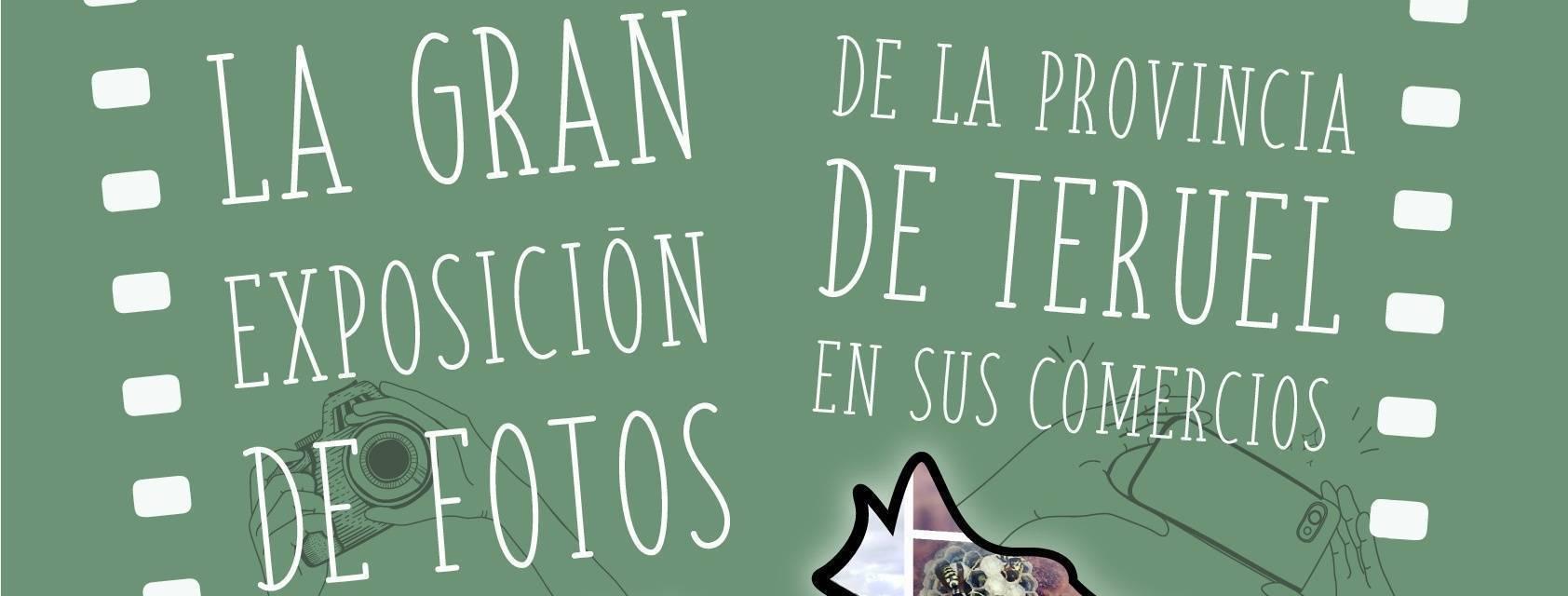 La gran Exposición de fotos de la provincia de Teruel en sus comercios