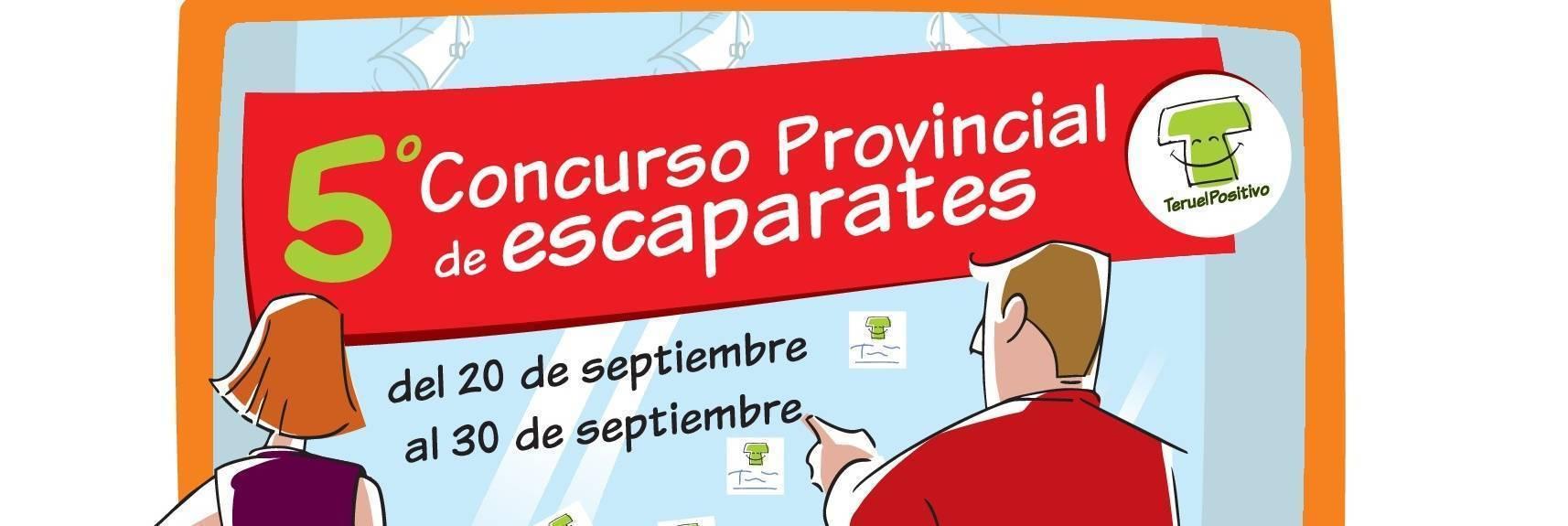 """Comienza el V Concurso de Escaparates """"El Comercio de Teruel en Positivo"""""""