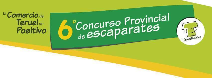 6º Concurso de Escaparates Teruel en Positivo