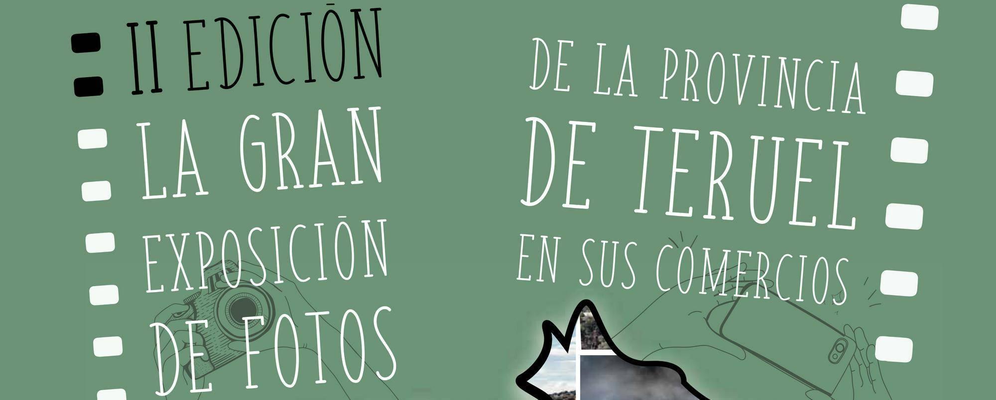 La II Gran Exposición de Fotos de la provincia de Teruel en sus comercios