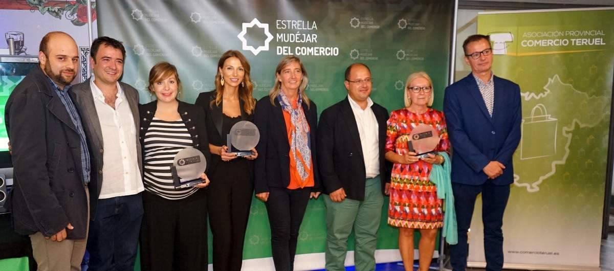 Premios Estrella Mudéjar del comercio a establecimientos de Andorra, Calanda y Teruel