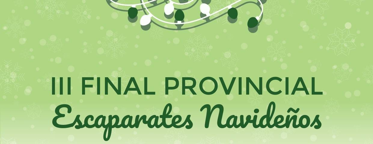 III Final provincial de Escaparates Navideños