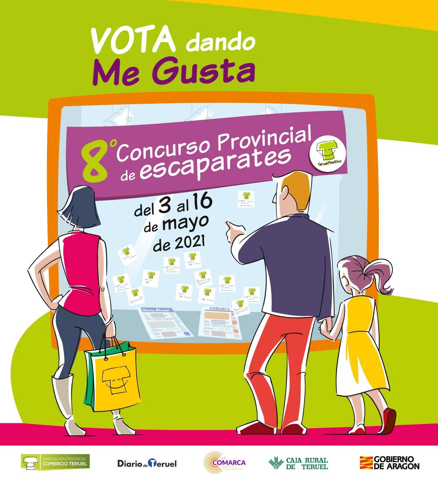Vota en el Concurso 8º Concurso de Escaparates Teruel en Positivo
